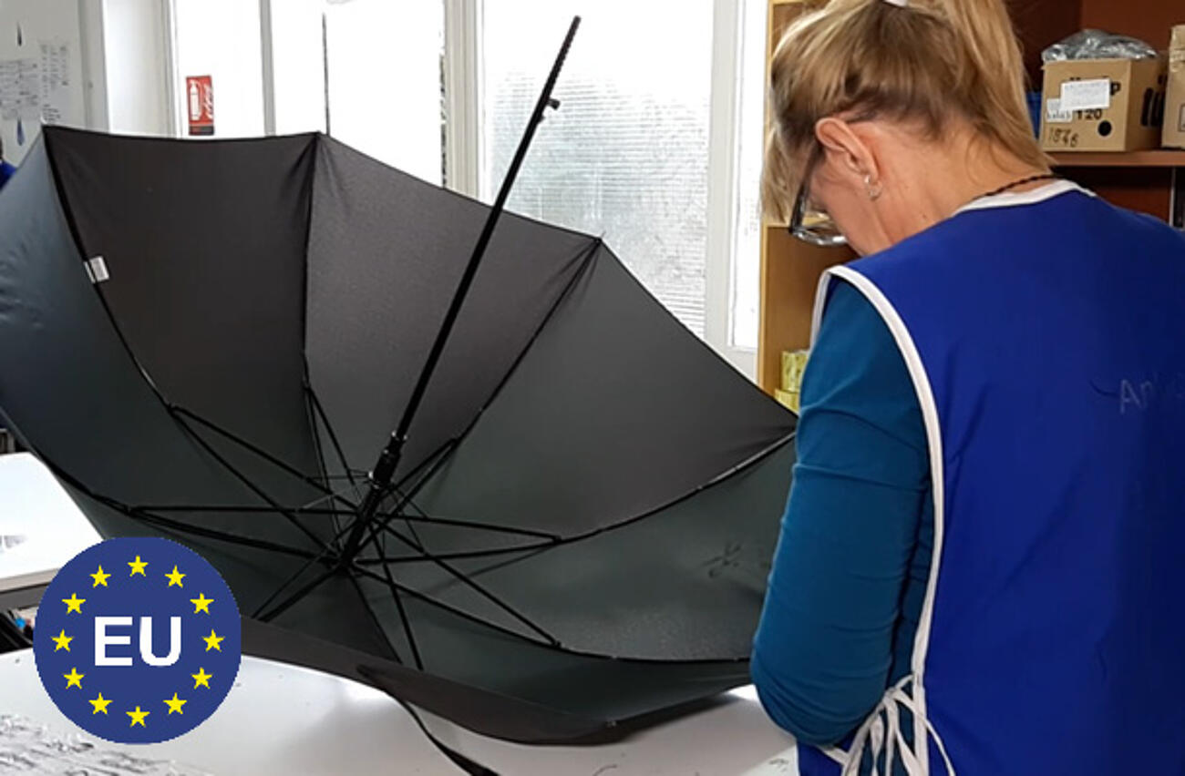 Company umbrellas Made in EU
